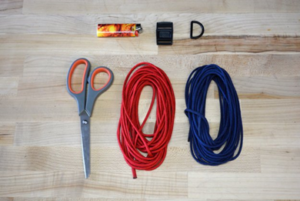 Materials required for making a Dog Collar