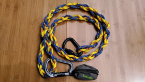 How a dog leash looks like after completion